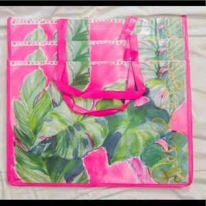 3 New Lilly Pulitzer Shopper Tote Bag Weekender